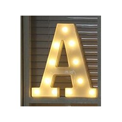 Luminous letters & numbers - LED night light - alphabet