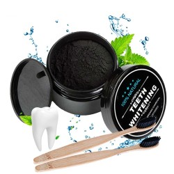 Natural activated teeth whitening charcoal powder 30g