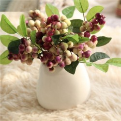 Artificial Christmas mistletoe berries 3 pieces