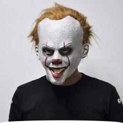 Halloween clown latex full face mask