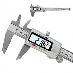 150mm LCD digital vernier caliper - stainless steel - electronic micrometer