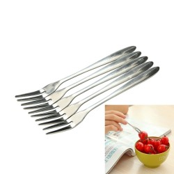 Stainless steel fork for desserts & appetizers 10 / 20 pieces