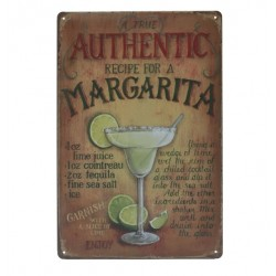 Margarita Metal Sign Poster