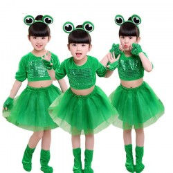 Small frog costume for girls & boys - set